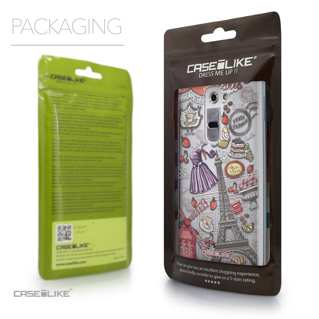 Packaging - CASEiLIKE LG G2 back cover Paris Holiday 3907