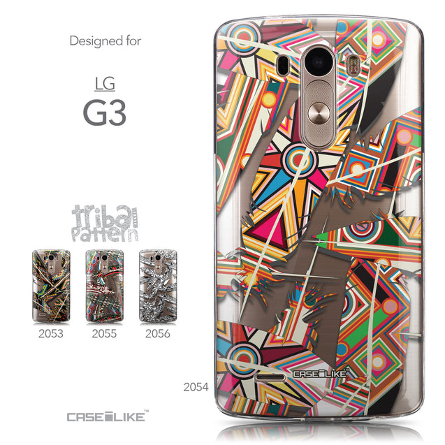 Collection - CASEiLIKE LG G3 back cover Indian Tribal Theme Pattern 2054