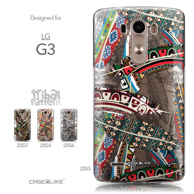 Collection - CASEiLIKE LG G3 back cover Indian Tribal Theme Pattern 2055