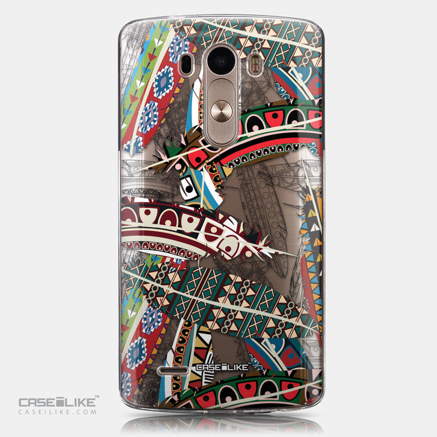 CASEiLIKE LG G3 back cover Indian Tribal Theme Pattern 2055