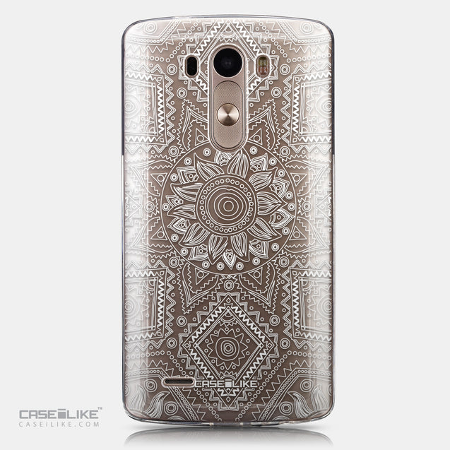 CASEiLIKE LG G3 back cover Indian Line Art 2061