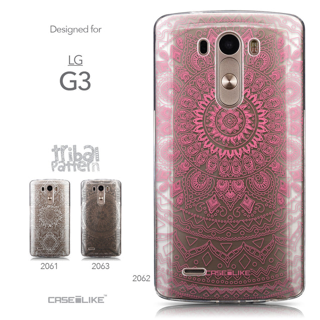 Collection - CASEiLIKE LG G3 back cover Indian Line Art 2062