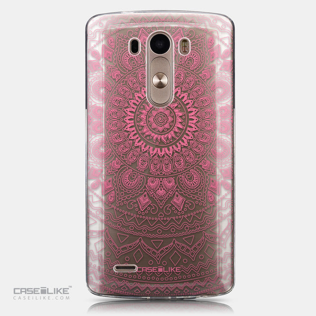CASEiLIKE LG G3 back cover Indian Line Art 2062