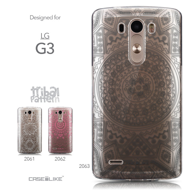 Collection - CASEiLIKE LG G3 back cover Indian Line Art 2063