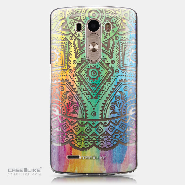 CASEiLIKE LG G3 back cover Indian Line Art 2064