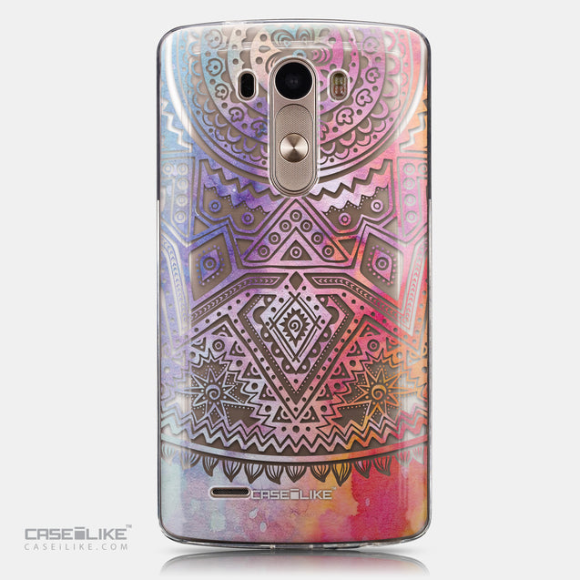 CASEiLIKE LG G3 back cover Indian Line Art 2065