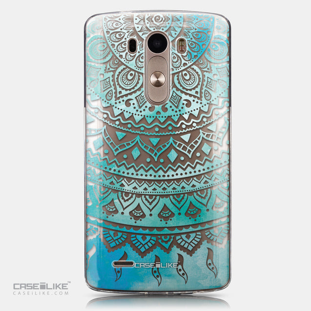 CASEiLIKE LG G3 back cover Indian Line Art 2066