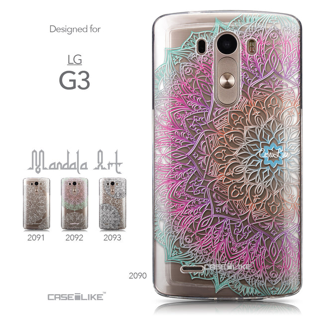 Collection - CASEiLIKE LG G3 back cover Mandala Art 2090