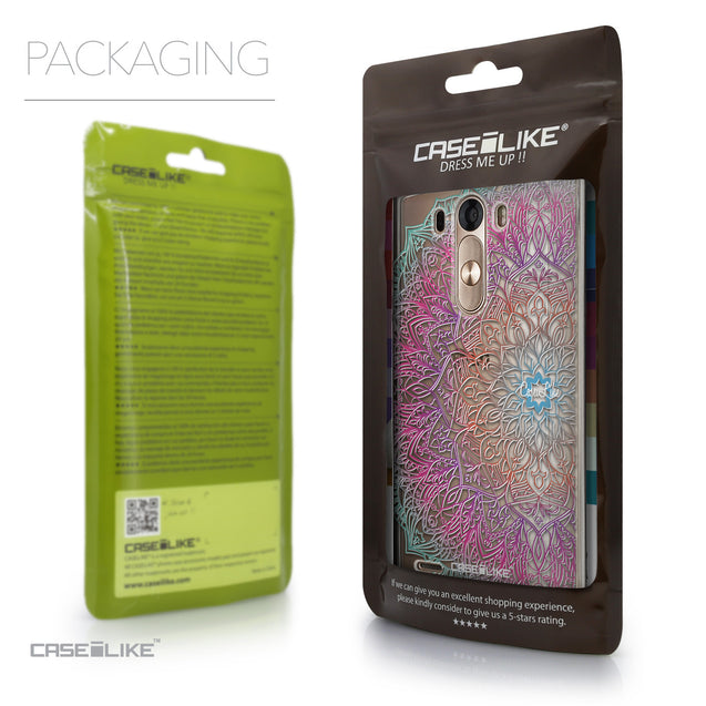 Packaging - CASEiLIKE LG G3 back cover Mandala Art 2090