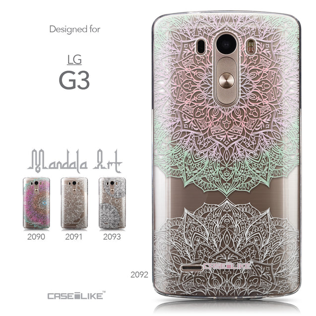Collection - CASEiLIKE LG G3 back cover Mandala Art 2092