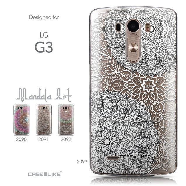 Collection - CASEiLIKE LG G3 back cover Mandala Art 2093