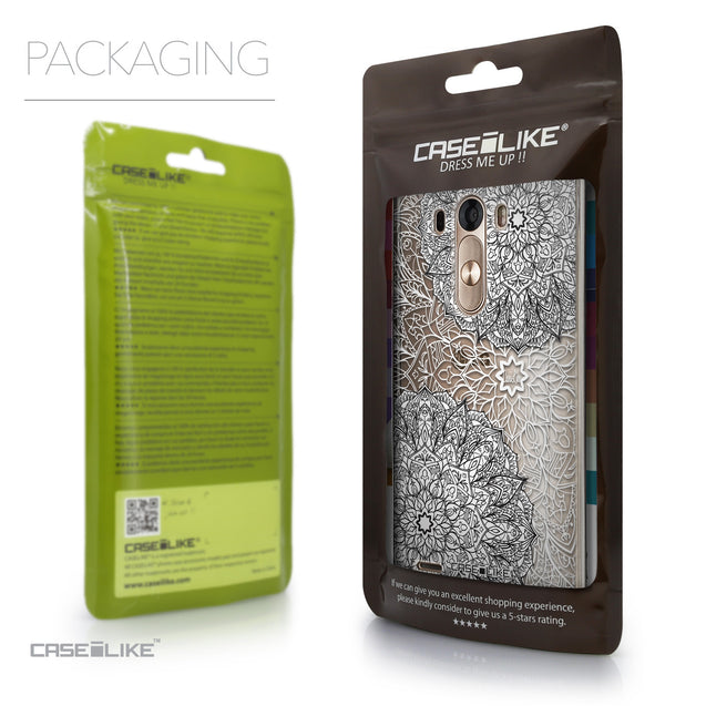 Packaging - CASEiLIKE LG G3 back cover Mandala Art 2093