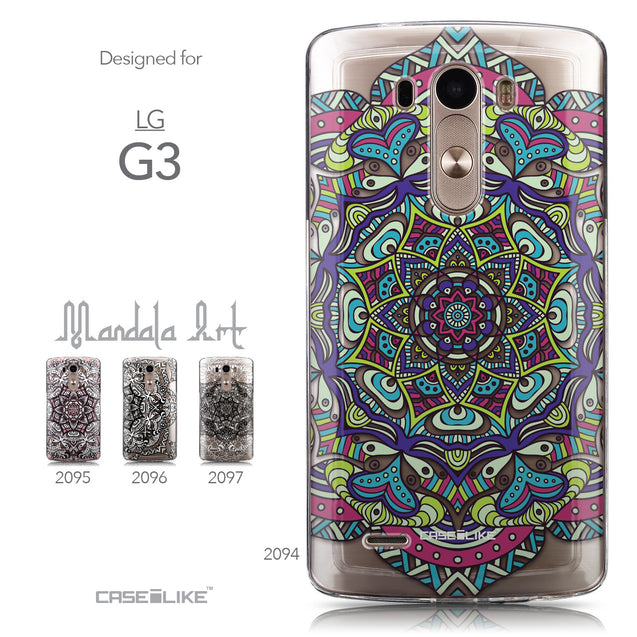 Collection - CASEiLIKE LG G3 back cover Mandala Art 2094