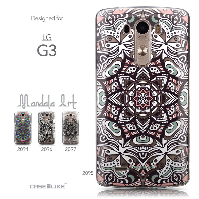 Collection - CASEiLIKE LG G3 back cover Mandala Art 2095