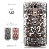Collection - CASEiLIKE LG G3 back cover Roses Ornamental Skulls Peacocks 2227