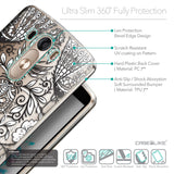 Details in English - CASEiLIKE LG G3 back cover Roses Ornamental Skulls Peacocks 2227