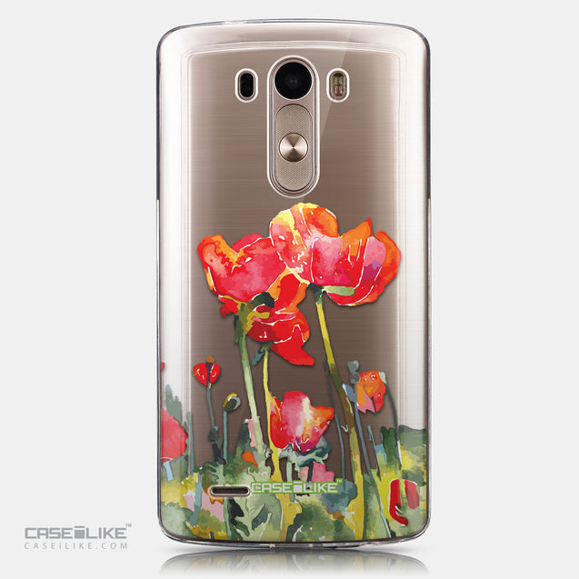 CASEiLIKE LG G3 back cover Watercolor Floral 2230