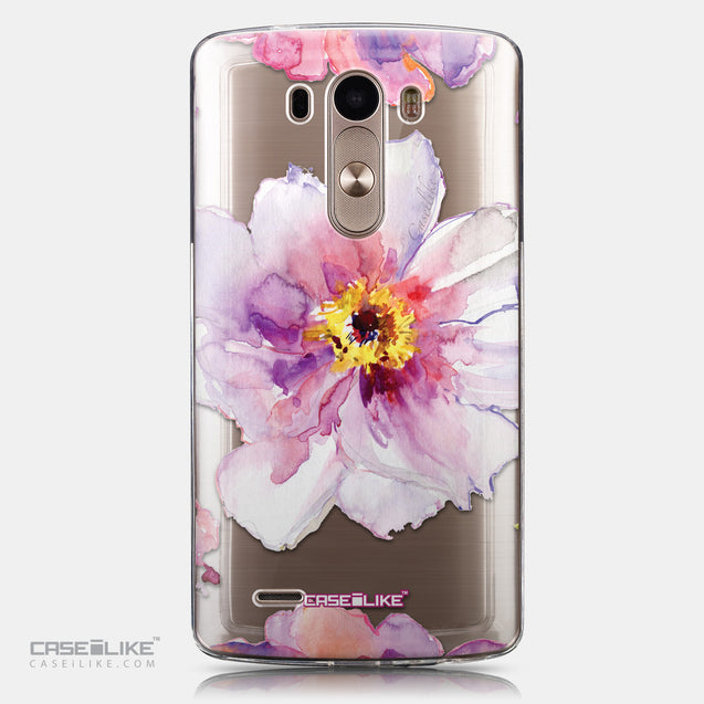 CASEiLIKE LG G3 back cover Watercolor Floral 2231