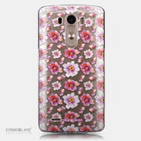 CASEiLIKE LG G3 back cover Watercolor Floral 2232
