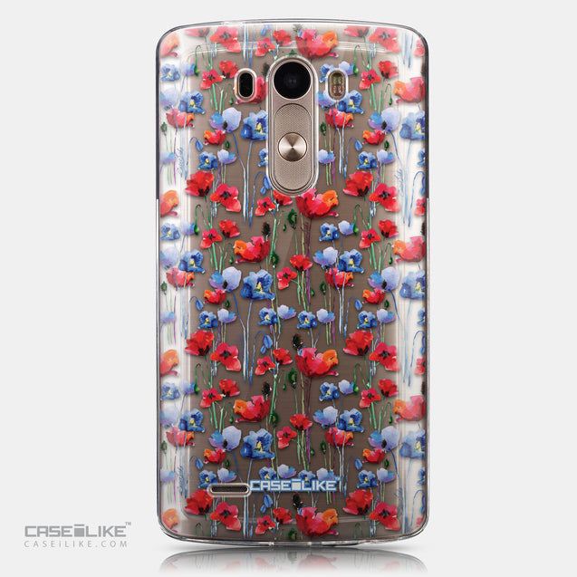 CASEiLIKE LG G3 back cover Watercolor Floral 2233