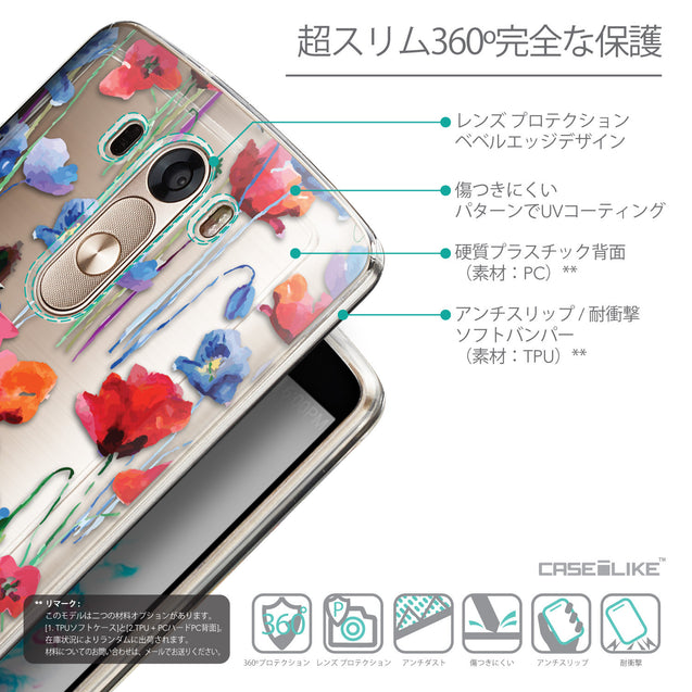 Details in Japanese - CASEiLIKE LG G3 back cover Indian Line Art 2061