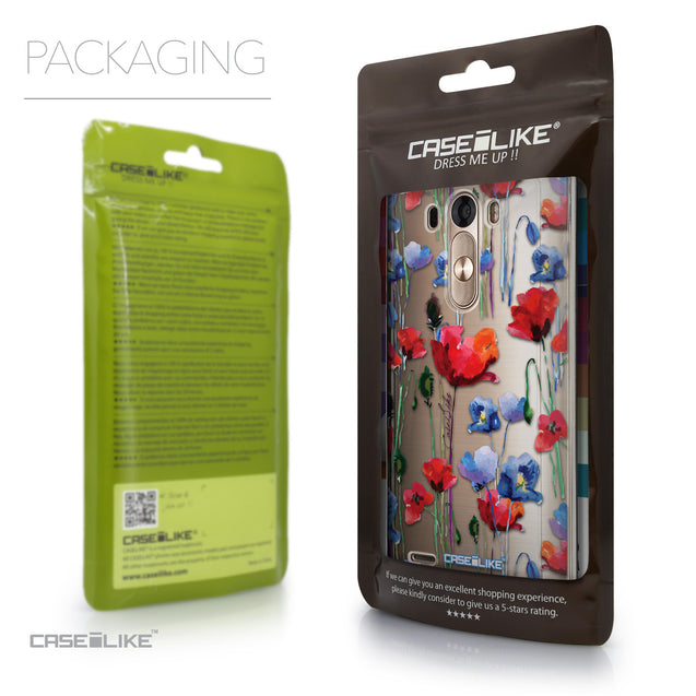 Packaging - CASEiLIKE LG G3 back cover Indian Line Art 2061
