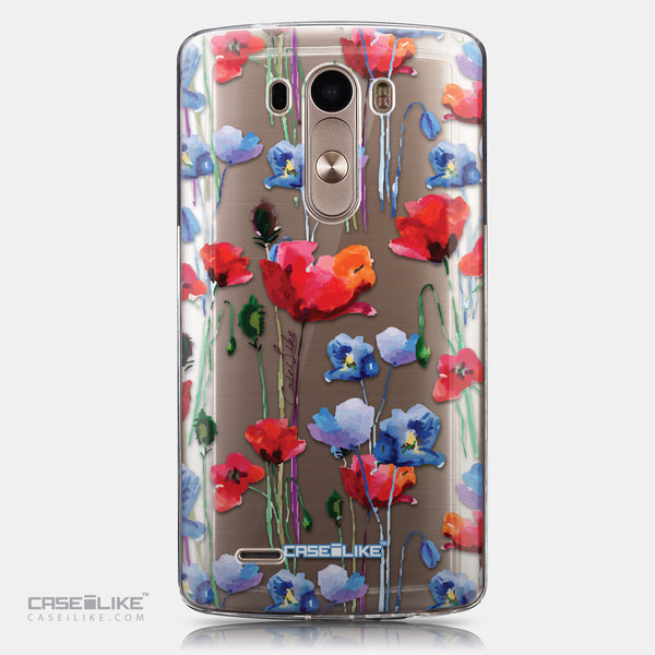 CASEiLIKE LG G3 back cover Watercolor Floral 2234