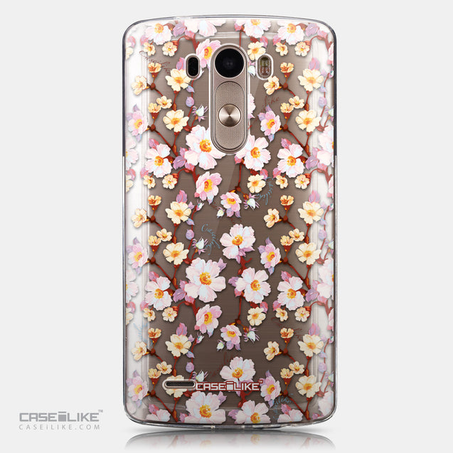 CASEiLIKE LG G3 back cover Watercolor Floral 2236