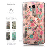 Collection - CASEiLIKE LG G3 back cover Spring Forest Pink 2242