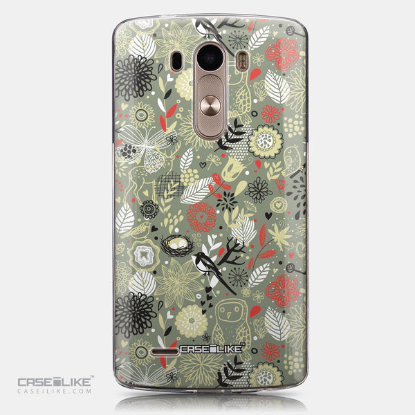 CASEiLIKE LG G3 back cover Spring Forest Gray 2243