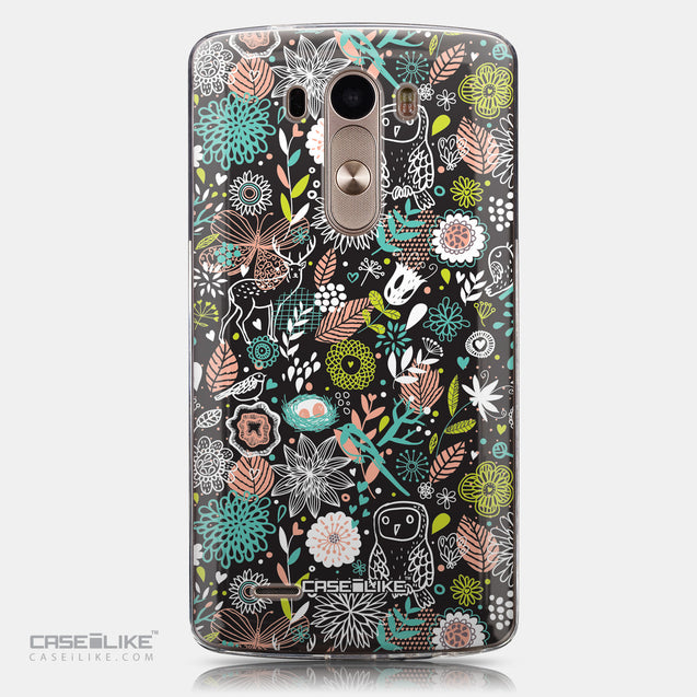 CASEiLIKE LG G3 back cover Spring Forest Black 2244