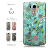 Collection - CASEiLIKE LG G3 back cover Spring Forest Turquoise 2245