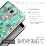 Details in English - CASEiLIKE LG G3 back cover Spring Forest Turquoise 2245