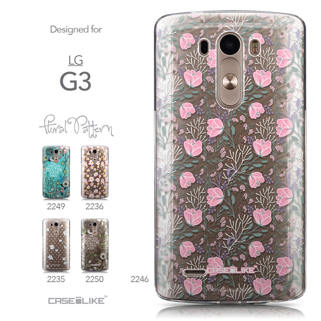Collection - CASEiLIKE LG G3 back cover Flowers Herbs 2246