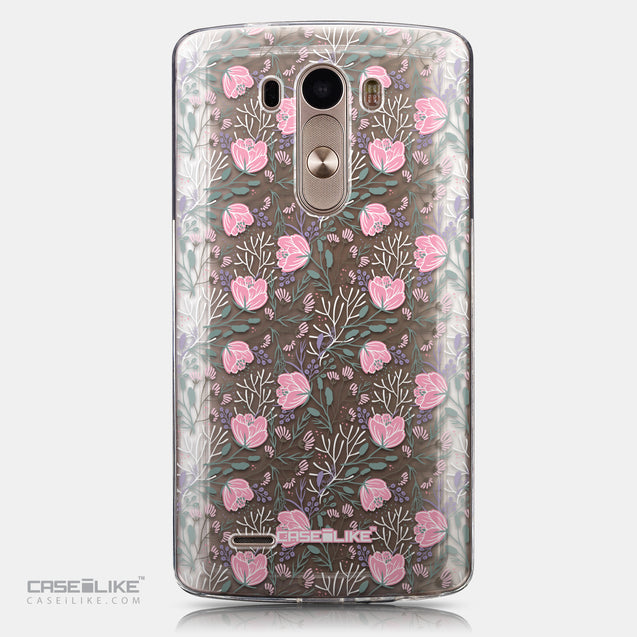 CASEiLIKE LG G3 back cover Flowers Herbs 2246