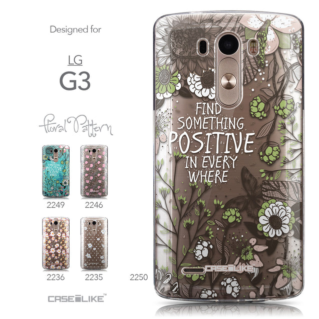 Collection - CASEiLIKE LG G3 back cover Blooming Flowers 2250