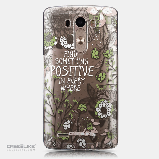 CASEiLIKE LG G3 back cover Blooming Flowers 2250