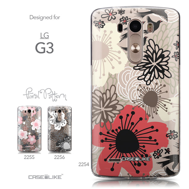 Collection - CASEiLIKE LG G3 back cover Japanese Floral 2254
