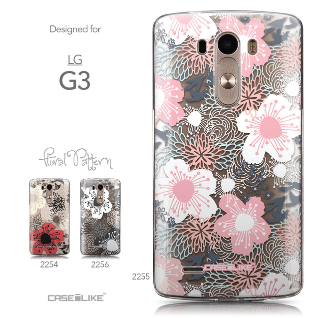 Collection - CASEiLIKE LG G3 back cover Japanese Floral 2255
