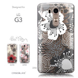 Collection - CASEiLIKE LG G3 back cover Japanese Floral 2256