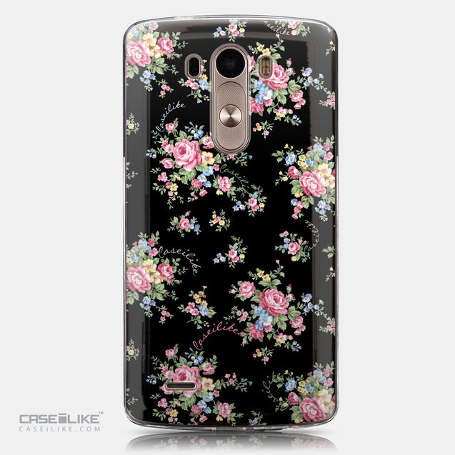 CASEiLIKE LG G3 back cover Floral Rose Classic 2261