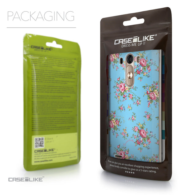 Packaging - CASEiLIKE LG G3 back cover Floral Rose Classic 2263