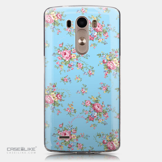 CASEiLIKE LG G3 back cover Floral Rose Classic 2263