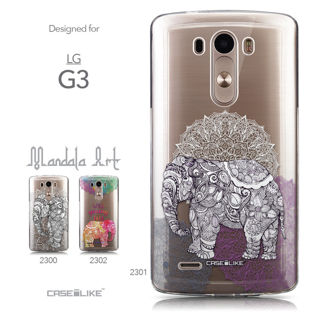 Collection - CASEiLIKE LG G3 back cover Mandala Art 2301