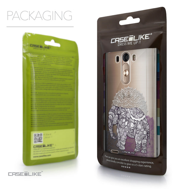 Packaging - CASEiLIKE LG G3 back cover Mandala Art 2301