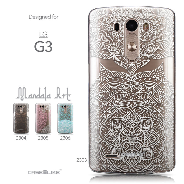 Collection - CASEiLIKE LG G3 back cover Mandala Art 2303