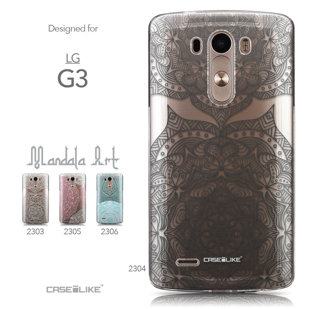 Collection - CASEiLIKE LG G3 back cover Mandala Art 2304