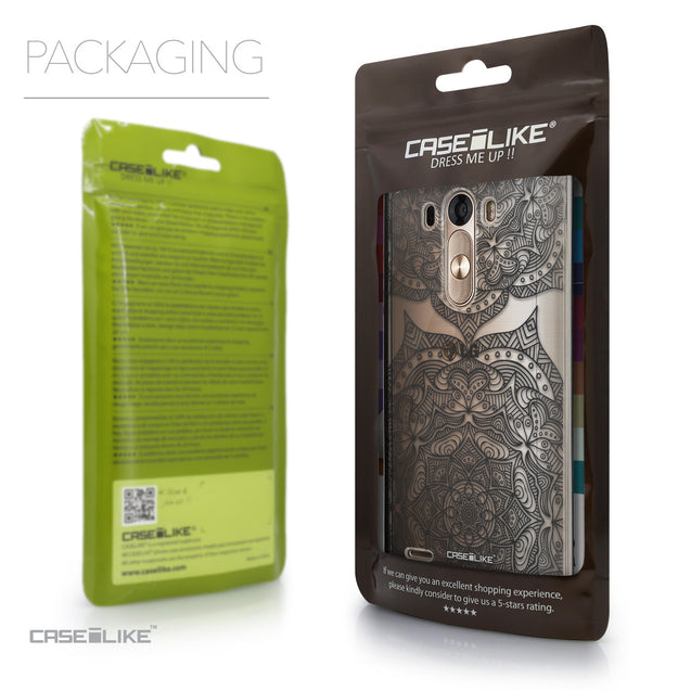 Packaging - CASEiLIKE LG G3 back cover Mandala Art 2304