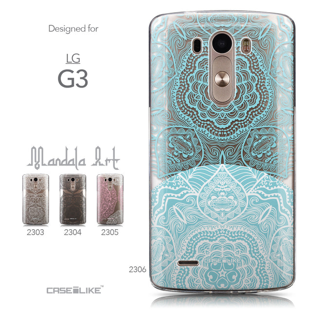 Collection - CASEiLIKE LG G3 back cover Mandala Art 2306