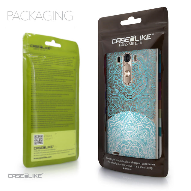 Packaging - CASEiLIKE LG G3 back cover Mandala Art 2306